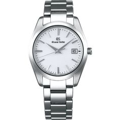 In Grand Seiko introduced Japan's first automatic watch to the world.In Caliber surpassed the original, with. Seiko Mechanical Watch, Watch Companies, Seiko Watches, Silver Man, Luxury Watches, Omega Watch, Stainless Steel, Pure Products, Black