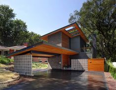 cinder block wall decorating ideas exterior midcentury with house
