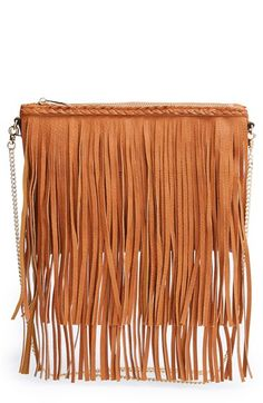 Sole+Society+'Rose'+Fringe+Faux+Leather+Convertible+Crossbody+Bag+available+at+#Nordstrom