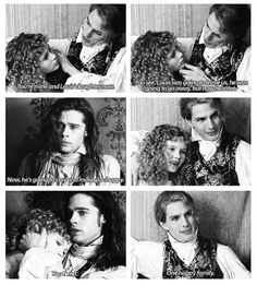 "Interview with the Vampire ""One happy family. Movie Photo, Movie Tv, Lestat And Louis, Anne Rice Vampire Chronicles, Vampire Pictures, Queen Of The Damned, Interview With The Vampire, A Discovery Of Witches, Original Vampire"