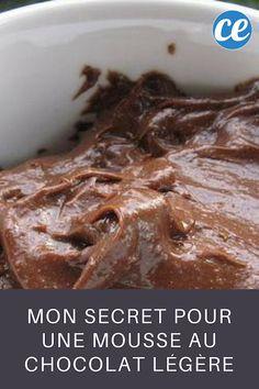 Mon Secret pour une Mousse au Chocolat Légère et Économique