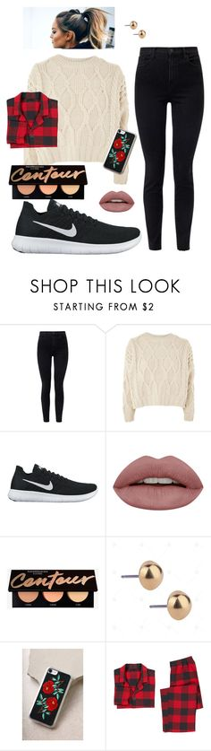 """""""Warm casual"""" by faith-32 on Polyvore featuring J Brand, Topshop, NIKE, Zero Gravity and PBteen"""
