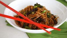 Pad See Ew | Martha Stewart Oriental Noodles, Pad See Ew, Cracked Egg, Thai Dishes, Skirt Steak, Rice Noodles, Just Cooking, Food N