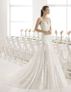 Robe Calais #collection 2018 #airebarcelona ! #robesdemariee #robes #wedding #weddingdress #dress #bridal #mariée #mariage
