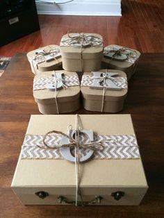 Super Cute bridesmaid gift box ideas