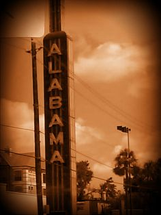 The Old Alabama Theater! <3