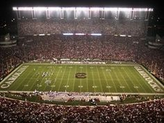 Williams Brice Stadium, home of the South Carolina Gamecocks.