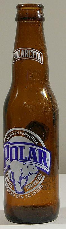 polar beer from Venezuela