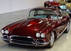 The Best Vette. #vette #corvette #bestvette #legendaryvette Chevrolet Corvette, 1962 Corvette, Classic Corvette, Bmw Classic Cars, Automobile, Vw Vintage, Chevy Muscle Cars, Mustang Cars, Limousine