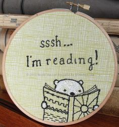 Shh! I'm reading!