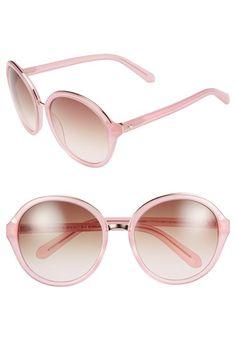 kate spade new york 'bernadette' 58mm gradient sunglasses available at #Nordstrom