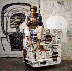J M Basquiat shot by Lizzie Himmel. #art, #people, #photography