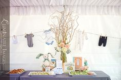 Adorable rabbit-themed baby shower photos featured on Hostess with the Mostess