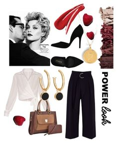 """""""Power Look"""" by venter-alicia on Polyvore featuring Moon and Lola, River Island, Chico's and PrimaDonna"""