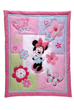Minnie Mouse quilted blanket
