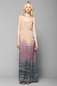 Moon And Sky Gradual Dye Maxi Dress | Gloss Fashionista
