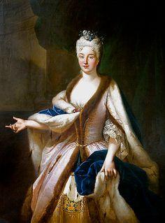 Marianna Lubomirska,c. 1725 Polish