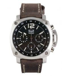 Reloj S&S Mod. SS-1916-BS Negro/Blanco