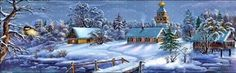 Beautiful Christmas Wallpaper Scenes Stunning wallpapers with Christmas village and nature themes.