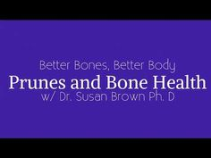 Six is officially the new magic number when it comes to how many prunes a day provide bone-building benefit. Learn more and get two great prune recipes! Prune Recipes, Increase Bone Density, Bone Health, Nice Body, Superfood, Bones, Magic Number, Things To Come, Nutrition