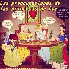 Las princesas de hoy de dia