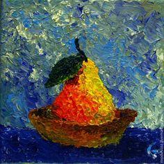 Купить Груша-кораблик - картина, картина для интерьера, картина в подарок, картина на холсте, картина в детскую