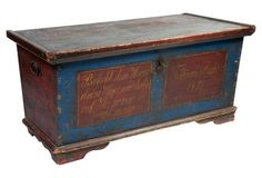Large Painted Chest, 1876