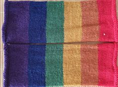 Hand-knitted wrist warmers in Pride rainbow colors in pure wool Wool Gloves, Fingerless Gloves, Wrist Warmers, Rainbow Pride, Alpaca Wool, Rainbow Colors, My Ebay, Mittens, Hand Knitting