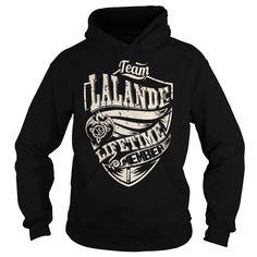 Team LALANDE Lifetime Member (Dragon) - Last Name, Surname T-Shirt