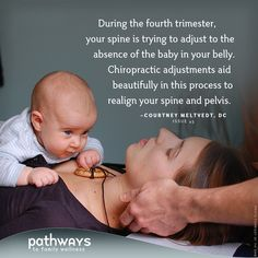 "A sneak peak at ""The Fourth Trimester"" by Courtney Meltvedt, D.C. in our current…"