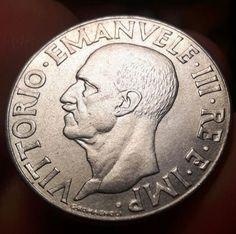 "Catawiki, coin, moneta, stati pre unitari, numismatic,vittorio emanuele III , pagina di aste on line  Italia, Regno - 1 Lira 1940 XVIIII variante ""4 stanghette"" Vittorio Emanuele III"