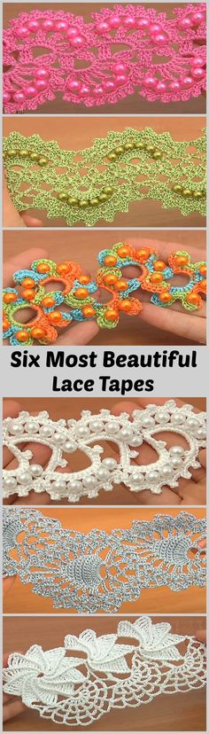 6 Most Beautiful Lace Tapes
