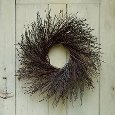 Black Willow Wreath in House+Home HOME DÉCOR Room Accents Wreaths at Terrain