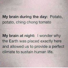 Potato potato ching chong tomato
