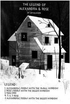 The Legend of Alexandra & Rose by Jon Klassen. I love this.