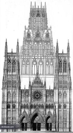 1876 – Proposed Cathedral, Manchester, Lancashire