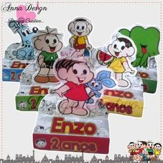 Luigi, Minnie Mouse, Disney Characters, Fictional Characters, Toys, Anna, Party, Tutti Frutti, Creative Design