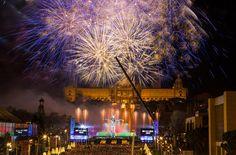 New Year's celebration in Barcelona!!