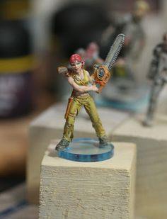 I paint to think: Claudia's Proxy - Zombicide Kickstarter Promo survivor