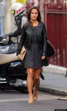 8/16/2011: Pippa out in London