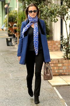 Pippa Middleton's Fall Style: Rhapsody in Blue