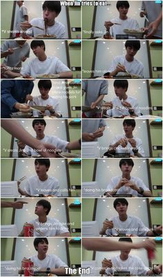 Lol all he wanted to do was eat Meme Center | allkpop