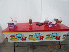 Candy and Food Station