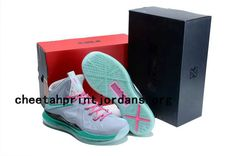 new products 04ceb bde26 I just like this Lebron Shoes 2013 Cheap For Sale Lebron James X South  Beach Vivid Grey Cherry Glow in the Dark
