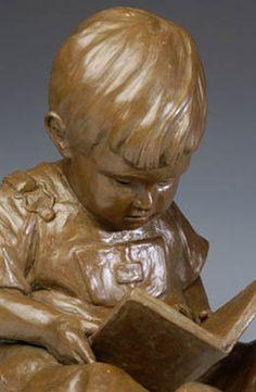 Children sculpture by Doyle Glass bronze sculptor