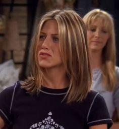 Cabelo Jenifer Aniston, Jennifer Anniston Short Hair, Jennifer Aniston Hair Friends, Jennifer Aniston Hair Color, Hair Inspo, Hair Inspiration, Rachel Green Hair, Rachel Haircut, Medium Hair Styles