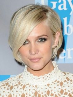 Short Hairstyles with Bangs 2014 - Celebrity Haircut