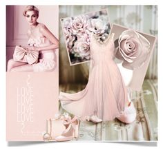"""""""Flowers"""" by tinayar ❤ liked on Polyvore featuring PinkBlush, Ted Baker, Zac Posen, Ippolita and Wet Seal"""