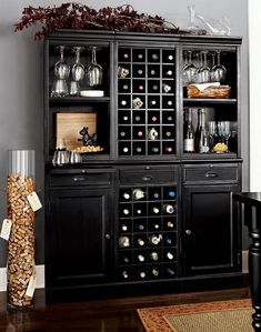 Home Bar Design Ideas, Furniture And Decorative Accessories Also Love The  Cork Storage.write The Date You Opened The Bottle And Who You Were With?