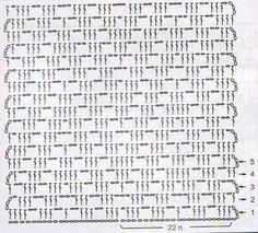 Only one chain stitch instead of – Wall Paper 2020 Crochet Diagram, Crochet Chart, Filet Crochet, Crochet Motif, Crochet Doilies, Crotchet Stitches, Crochet Stitches Patterns, Crochet Designs, Scarf Patterns